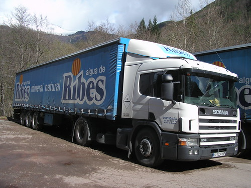 Scania a Ribes de Freser (Girona)