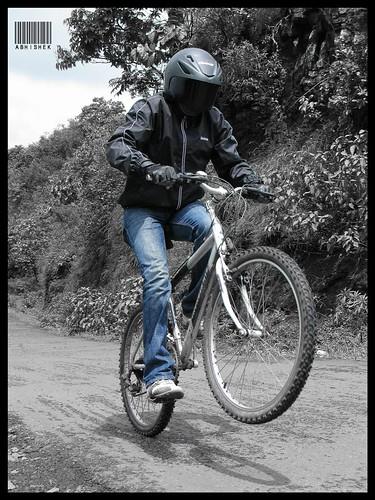 Cycle stunts