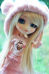 Let it rain! ( Sophia Vanille ) Tags: doll sanrio pullip mymelody sugarmag custompullip pinkpullip pullipmm