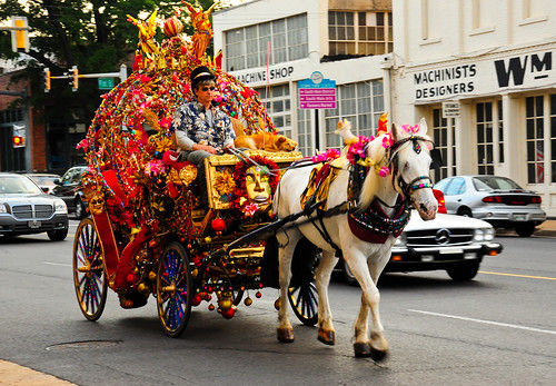 Mardi Gras Carriage