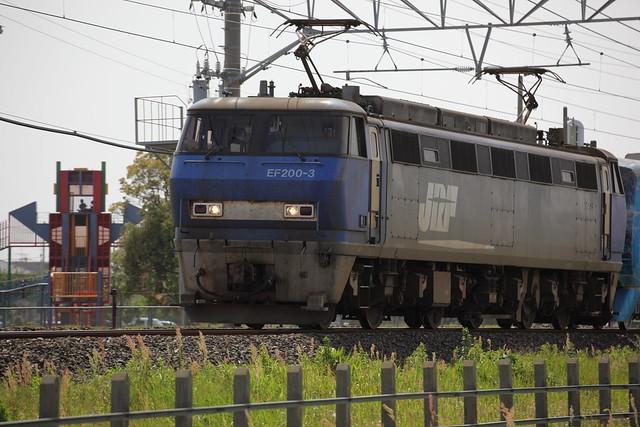 EF200-3 | 東京メトロ 15000系 甲種輸送
