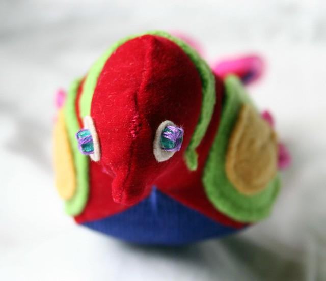 sad parrot