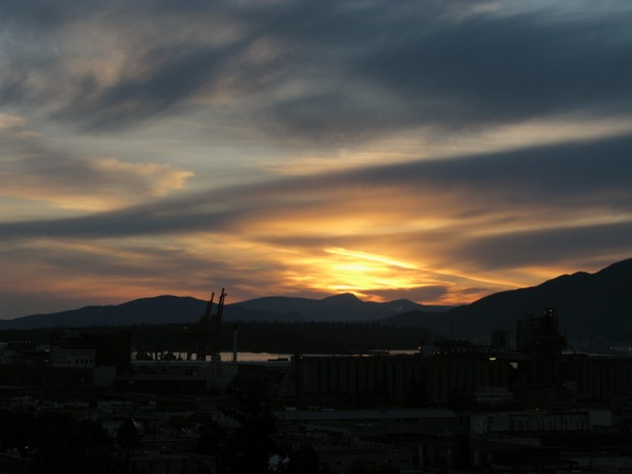vancouver spring sunset 002