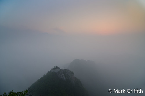 Dawn on JianKou Wall