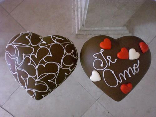 Coração De Chocolate Decorado Muito Amor A Photo On Flickriver