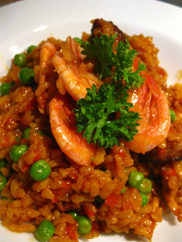 Chicken and Chirozo Paella