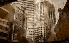 City_scape (YAZMDG (15,000 images)) Tags: mobile architecture desire negative solarized fone android posterized greyscale yaz htc yazminamicheledegaye yazmdg a8183 htcdesirea8183 hrcdesirea8183 ystudio