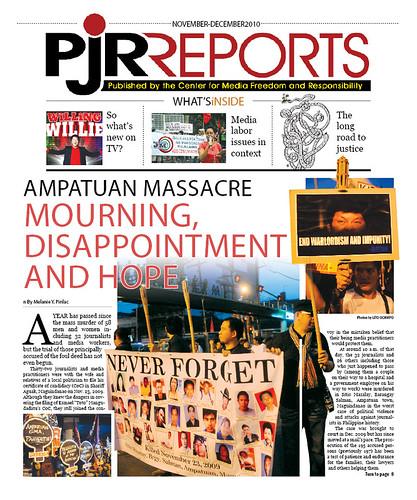 PJR Reports Nov-Dec 2010