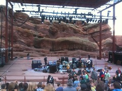 Pre-show at Red Rocks