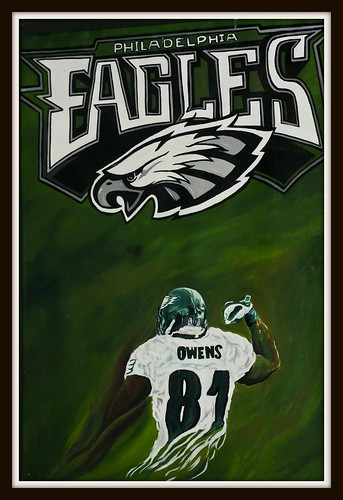 My Painting of the Eagles