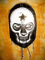 MUERTE(death) (aziritt) Tags: comics skull luchalibre masked calavera krink palehorse alexisziritt