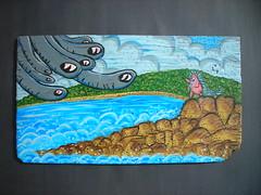 Artwork for NoLA Rising Art Auction Donated by BONUS SAVES