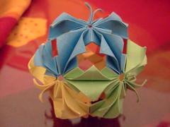 Arabesque (Kalami) Tags: origami arabesque kusudama