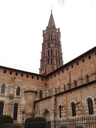 Basílica de Saint-Sernin, Toulouse.