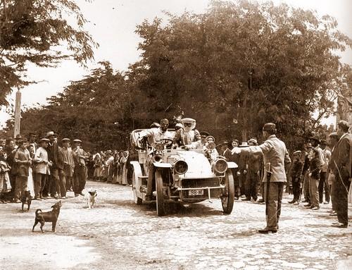 Primeros coches en Toledo