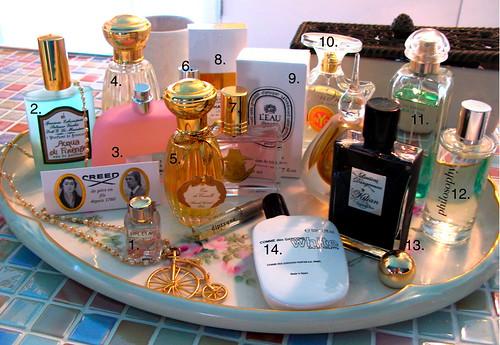 favorite perfumes