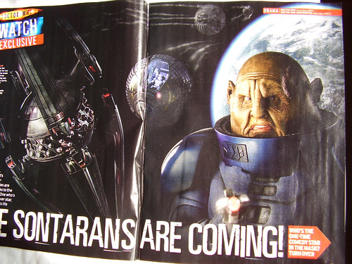 DR WHO: 'Sontaran' RADIO TIMES - Inside