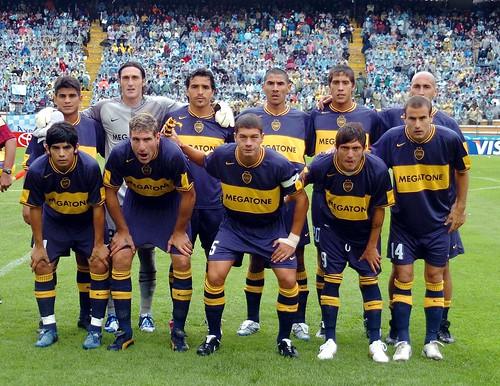 Boca campeon copa libertadores 2007