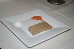 Foie Gras Pate with tasting salts