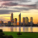 Perth City Sunset © PadburyPhoto