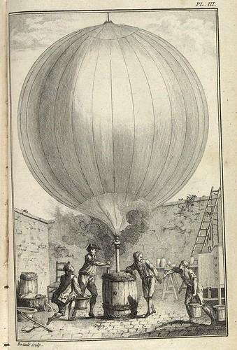 Inflando un globo