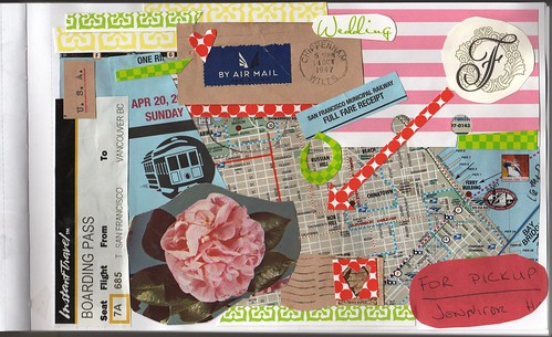 San Francisco Collage Journal