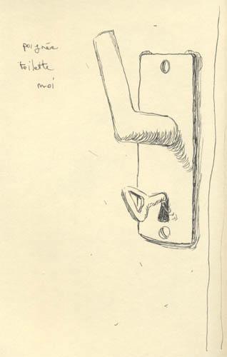 Poignée de chiotte - Moi