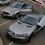 Mercedes-Benz SLR McLaren 722 Edition and Maybach from Kuwait