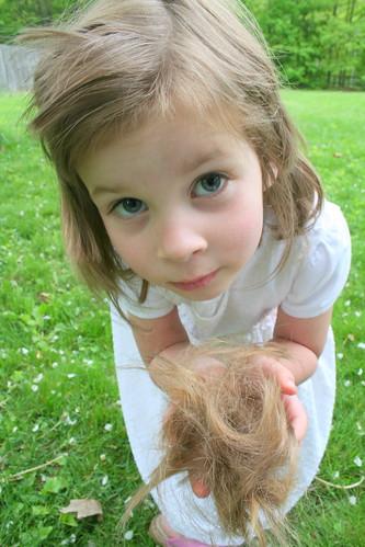 Abby's hair