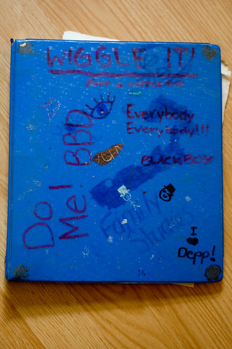 high school binder