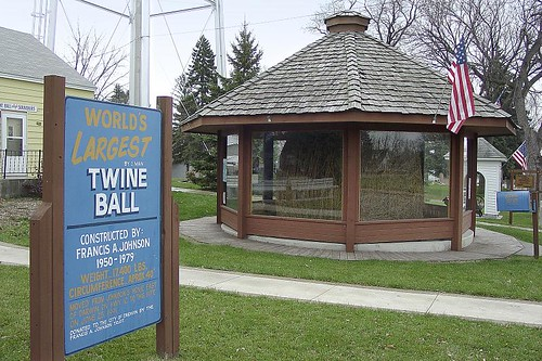 Biggest Ball of Twine in Minnesota - Darwin, Minnesota