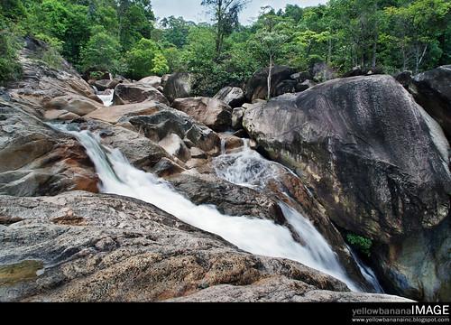 Berkelah  waterfall 03