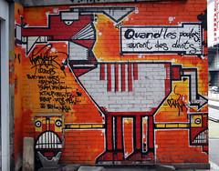 Tags Wall (M) Art #3 - Quand les poules auront des dents