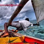 kenya , man and sea