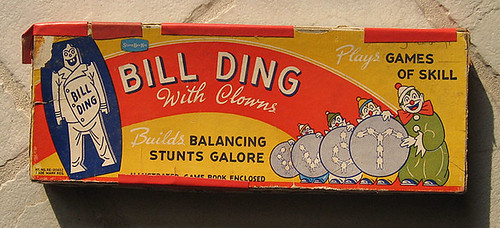 Bill Ding Vintage Toy
