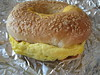 So's Your Mom Egg and Cheese on Sesame Bagel