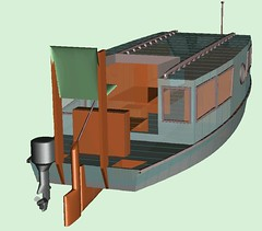 Outboard Powered Canal Cruiser