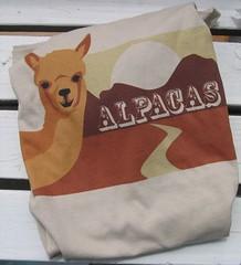 Non-Ironic Alpaca shirt
