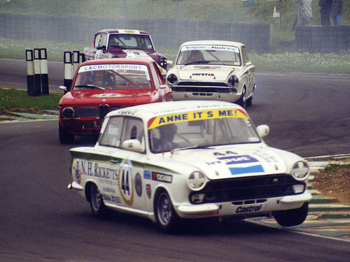 Norman Ricketts - Lotus Cortina