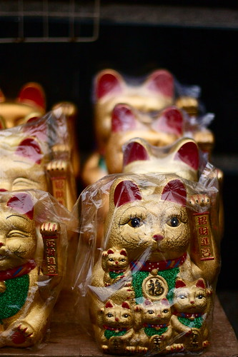 Waving Cats by Frank Patzig
