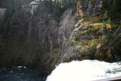 Brink of Upper Yellowstone Falls (Canyon Village, Wyoming, United States) Photo