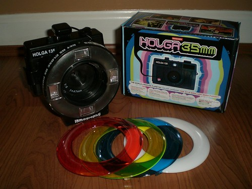 New 35mm Holga & Ringflash