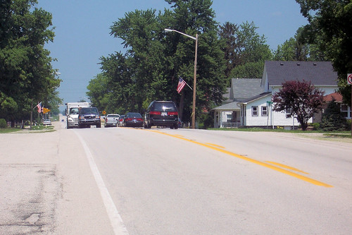 Northbound through Michigantown