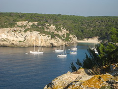 Trail to Beach at Cala macarelleta (Tommy_Ingram) Tags: menorca cala galdana