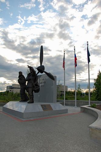 Alaska-Siberia WWII Monument (VII)