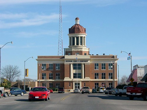 Courthouse, Route 66 - Sayre, Oklahoma
