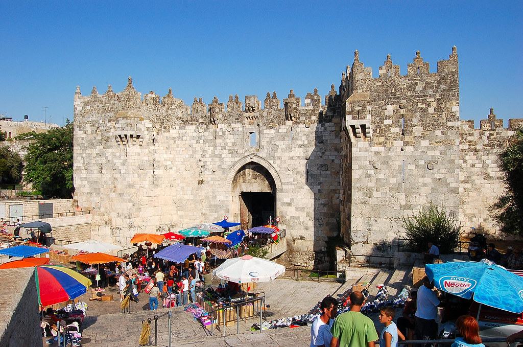 Damascus Gate, יְרוּשָׁלַיִם Jerusalem 耶路撒冷 (by synnwang)