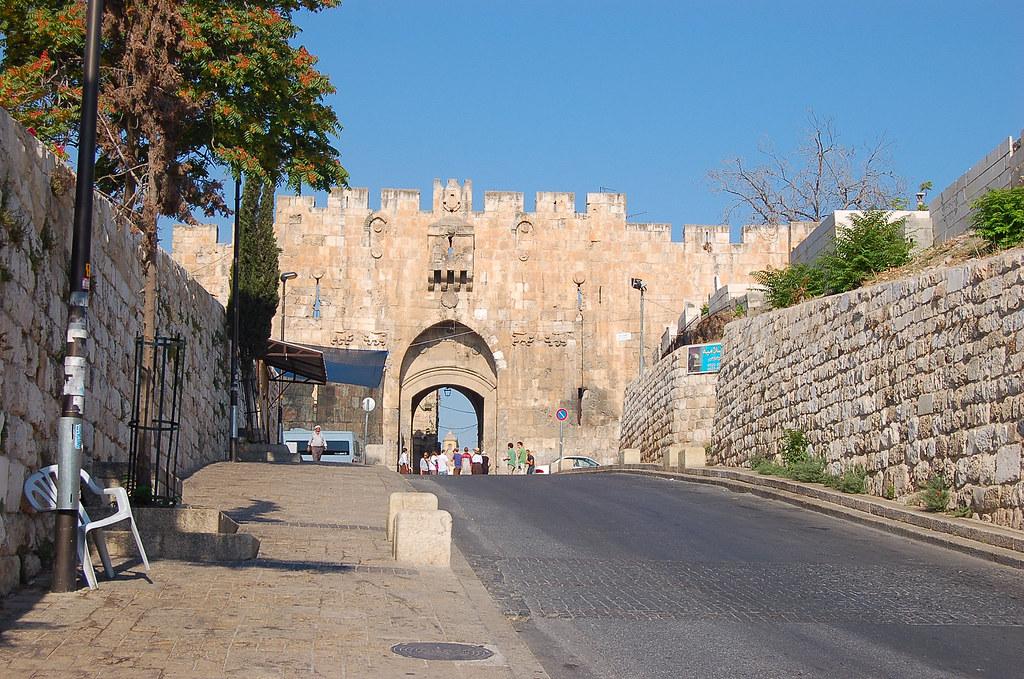 Lion Gate, יְרוּשָׁלַיִם  Jerusalem 耶路撒冷