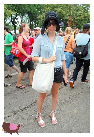 pitchfork music festival chicago street fashion