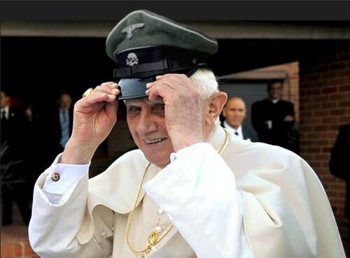 pope benedict xvi pope nazi